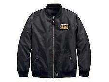 97457-18VM Harley-Davidson® Men's Slim Fit HDMC™ Patch Bomber Jacket XL