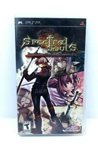 Spectral Souls: Resurrection of the Ethereal Empires (PSP) - Complete