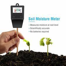 Atree Soil PH Moisture Sensor Meter Tester Soil Water Monitor Lawn,Indoor/out