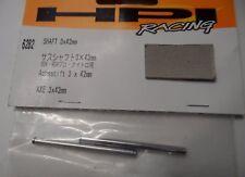 Nuevo Eje de HPI (2 un.) 3x42mm para Nitro Mt 2, RS4, Rush, Hpi 6282