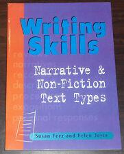 Book. Writing Skills Narrative & Non-Fiction Text Types. Susan Feez Helen Joyce