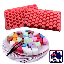 55 Heart Silicone Cake Chocolate Cookies Baking Mould Ice Cube Mold HKIM28555