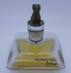 TOUJOURS FIDELE D'ORSAY SCENT BOTTLE BY BACCARAT