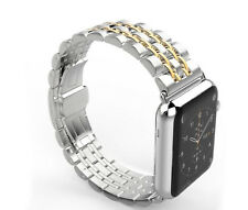 Metal Stainless Steel Butterfly Wrist Band+connectors for Apple Watch iWatch US