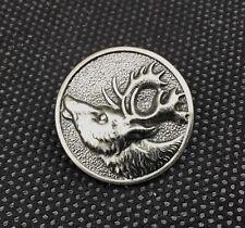 Ancien bouton de chasse   Cerf