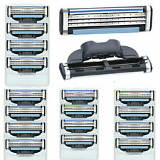 16PCS Mens Gillette Mach 3 Cartridges Razor Blades Fusion Shaver Blades Refills