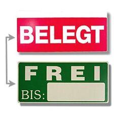 Liegeplatzschild Frei Belegt Liegeplatzreservierung im Hafen