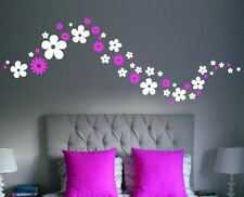 Flower Wall Stickers Removable Room Large & Regular Sizes Daisy