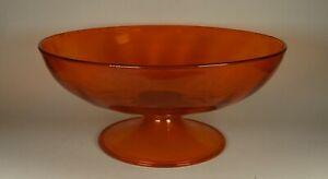 Murano Venetian Italian Glass Footed Bowl - Comport