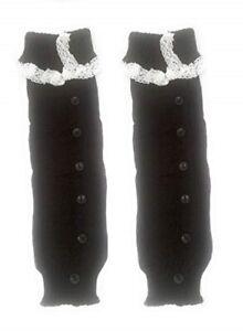 Boot Leg Warmer Womens Winter Warm Dressy Casual Lace Ankle Acrylic Cuffs