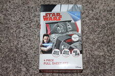 DISNEY STAR WARS 4 PIECE SHEET SET FULL BRAND NEW