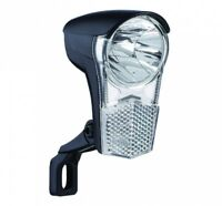 Fahrrad LED Frontscheinwerfer 15 LUX 2,4 Watt 6 Volt f Nabendynamo n STVZO 01060