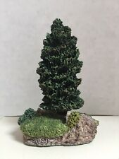 "Harbour Lights 1999 ""Bob Younger"" Memorial Tree Rest In Peace Figurine Coa & Box"