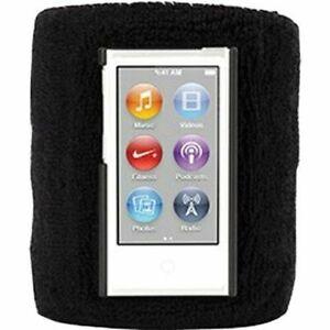 Active Black SportCuff Back Case for Apple iPod Nano 7th | 8th GEN by Griffin