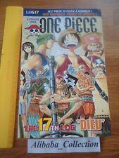ONE PIECE LOG 17 grand format Eiichiro Oda Collection Hachette MANGA VF