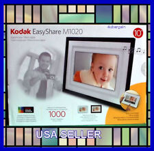 "Kodak EASYSHARE M1020 10"" Digital Picture Frame Home Decor Kit MP3&Video Player"