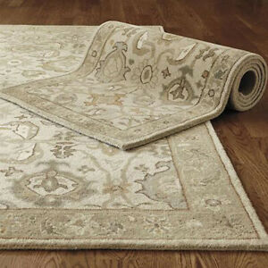 Ballard Designs Catherine Rug Handmade Parsian Style Wool Area RUG & Carpet