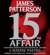New Audio Book James Patterson 15th AFFAIR Women's Murder Club Abridged CDs