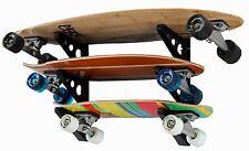 Longboard Wall Rack | Triple Longboard Storage | StoreYourBoard | NEW