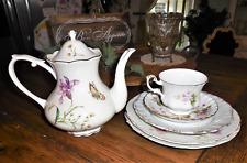 Royal Albert MAYFLOWER Bone China Tea Cup & Saucer & Grace's Teaware Teapot +++