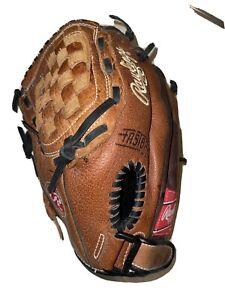 "Rawlings R115 11.5"" Renegade Baseball Glove Left Handed Thrower LHT Brown Black"