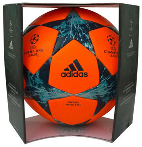 ADIDAS FINALE 17 PROFI MATCHBALL SPIELBALL WINTER 2017-2018 CHAMPIONS LEAGUE