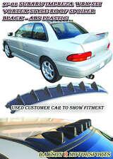 VG-Style Rear Roof Fin Spoiler Wing (ABS Black) Fits 93-01 Subaru Impreza
