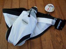 Fuel Belt THE SLIDE Single 18oz Bottle Belt WHITE PANDA ~ NWT