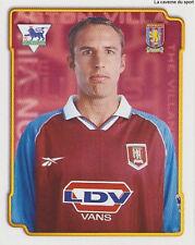 N°039 GARETH SOUTHGATE ASTON VILLA.FC STICKER MERLIN PREMIER LEAGUE 1999