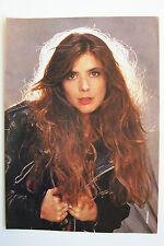 FIONA FLANAGAN (Fiona) - 1990 Magazine Poster