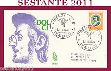 ITALIA FDC VENETIA 421 - 2 1976 DOLCI ANNULLO FIRENZE  G723