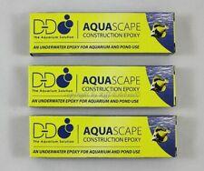 AquaScape 3 x 113,4g Korallenkleber grau 2 Komponenten Epoxid Kleber 9,40€/100g