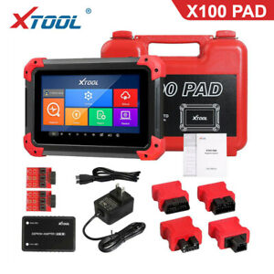 XTOOL X100 PAD With Special Functions Oil Rest Odo-meter EPB ABS EEPROM Throttle