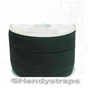 FLAT ELASTIC BLACK STRETCH ELASTIC  12mm 25mm 40mm 50mm