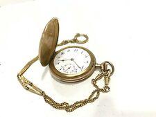 MGBM Geneve 92231 antike Taschenuhr  vergoldet