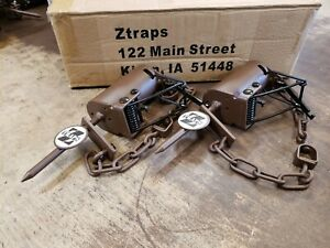 2 Brown Z Trap Dog Proof Trap DP Trap Push and Pull Trigger