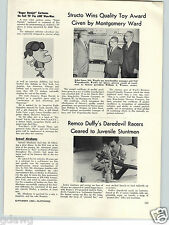 1965 PAPER AD Roger Ramjet Cartoons Article Honey Moon Space Doll Chester Gould