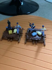 Timpo Cavalry Soldiers On Rafts