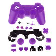 20pcs Purple Housing Shell Case Button Parts for Sony PS3 Game Controller