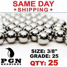 25 Qty 38 Inch G25 Precision Chrome Steel Bearing Balls Chromium Aisi 52100