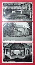 3 x AK BAD LAUCHSTÄDT um 1930 Goethe Theater mit Innenansichten   ( 26412
