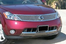 2003-2008 Fits Nissan Murano Dual Weave Mesh Grille Stainless -E&G 1318-0104-03D
