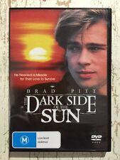 The Dark Side Of The Sun (DVD R4 1988) Brad Pitt Cheryl Pollak VG COND Drama