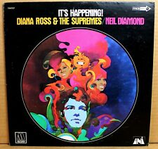 DIANA ROSS & SUPREMES / NEIL DIAMOND~ It's Happening! ~Special MCA LP 1972 VG++