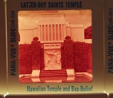 Hawaii 70s Color Slides 80+ LDS Temple Waterfall Pig Roast Pali Tunnel Hula Lt 3