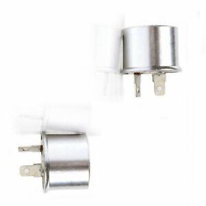 2 PACK -  NEW HEAVY DUTY 552/E-552/536 12V/2 Prong Turn Signal Flasher/Blinker!