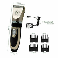 Electrical Pet Dog Hair Trimmer Professional Clippers Grooming Tool Rechargeable