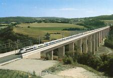 Train TGV Réseau Rame 424 franchit le Viaduc Grenette à LA ROCHE SUR GRANE