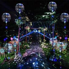 5Pcs LED Light Balloons For Valentines Christmas Wedding Celebration Event Party
