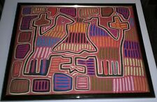 """3D Quilted Wall Art Southwestern Design 19 3/4"""" x 16"""" W/Frame"""